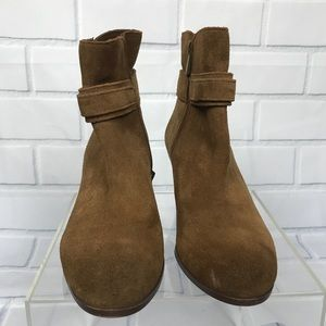 Sam Edelman Shoes - Sam Edelman Lynne Tan Suede Ankle Booties 7